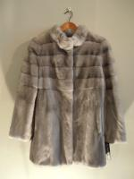 Sapphire mink jacket - Approx size: M - Price: £3,650 (Ref C307)