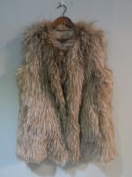 Crystal knitted fox gilet