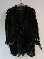 Pre-owned Gianfranco Ferre cut out evening coat