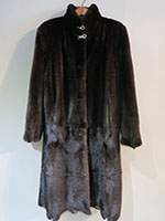 Modern Blackglama mink coat