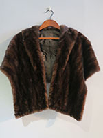 Mid brown mink wrap